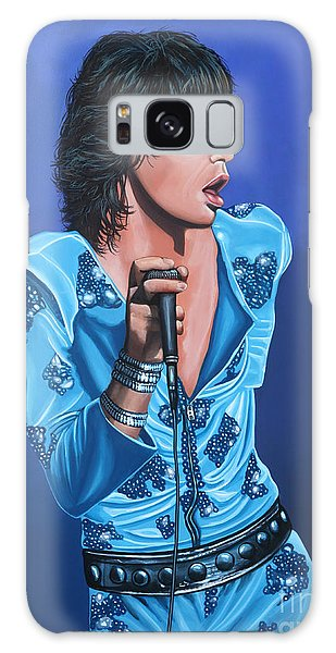 Cd Galaxy Case - Mick Jagger by Paul Meijering