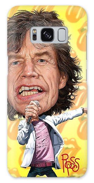 Mick Jagger Galaxy Case