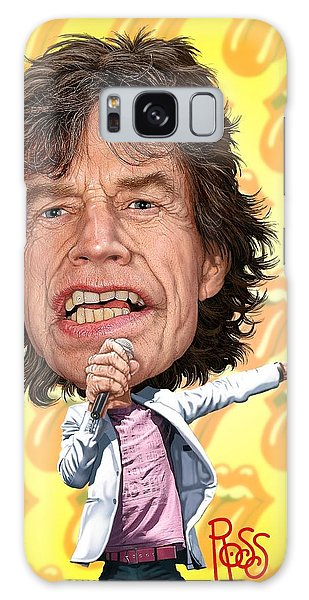 Mick Jagger Galaxy Case