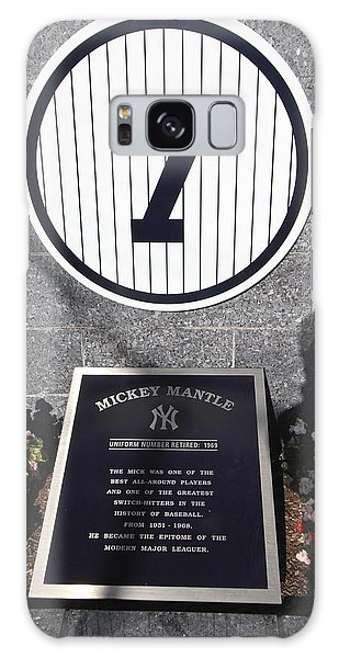 Mickey Mantle Galaxy Case by Allen Beatty