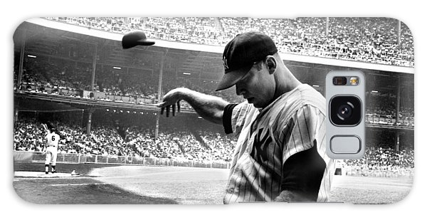 Galaxy Case - Mickey Mantle by Gianfranco Weiss