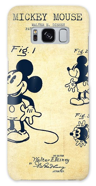 Mickey Mouse Patent Drawing From 1930 - Vintage Galaxy Case