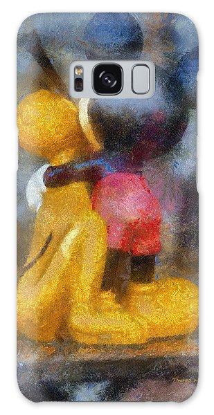 Mickey Mouse Photo Art Galaxy Case