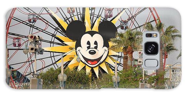 Mickey Mouse Wheel Galaxy Case