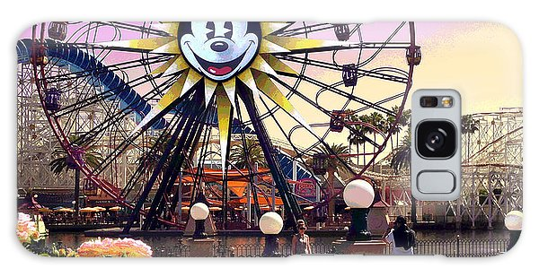 Mickey's Fun Wheel II Galaxy Case by Doug Kreuger