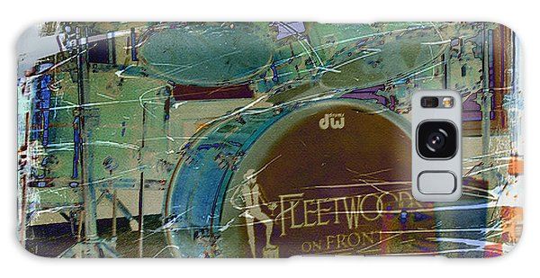 Galaxy Case - Mick's Drums by Paulette B Wright