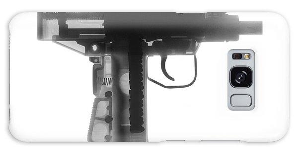 Calico M100 Galaxy Case - Micro Uzi X Ray Photograph by Ray Gunz