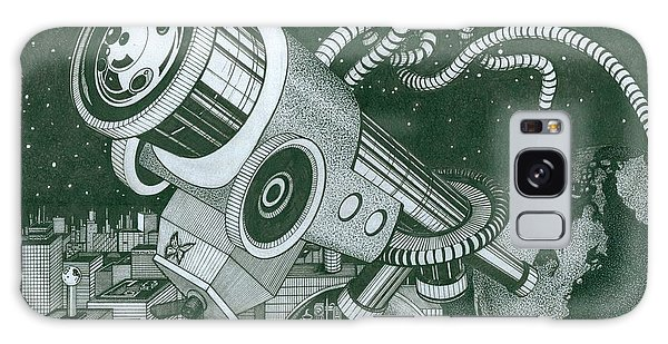 Microscope Or Telescope Galaxy Case by Richie Montgomery