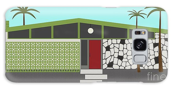 Mid Century Modern House 4 Galaxy Case