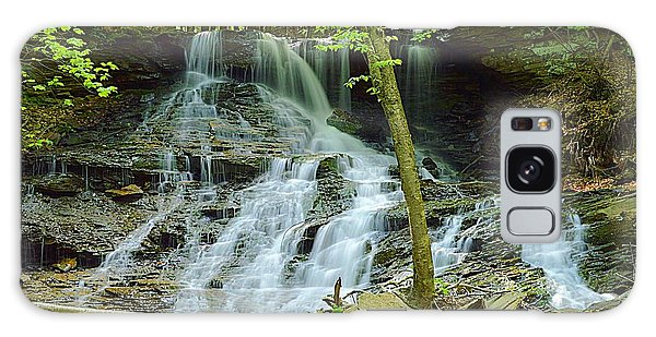 Middle Branch Falls Lower Tier #1 Galaxy Case