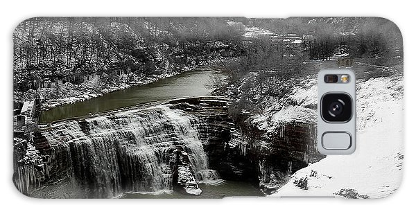 Middle Falls Rochester Ny Galaxy Case by Richard Engelbrecht