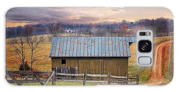 Middleburg Virginia Countryside Galaxy Case