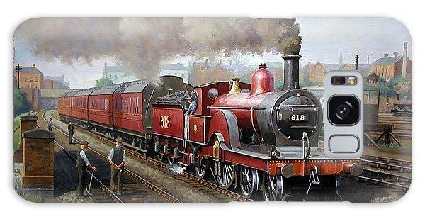 Midland Railway Single 1896. Galaxy Case by Mike  Jeffries