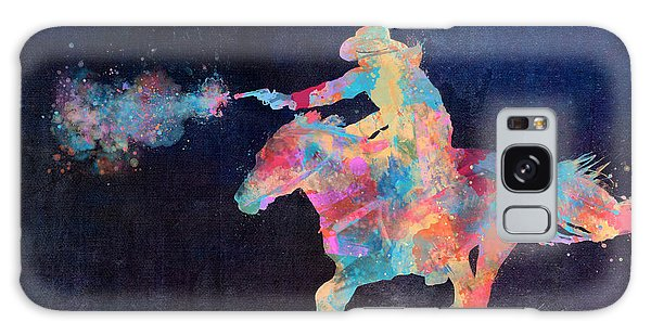 Midnight Cowgirls Ride Heaven Help The Fool Who Did Her Wrong Galaxy Case