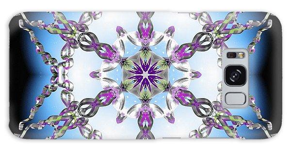 Galaxy Case featuring the digital art Midnight Galaxy IIi by Derek Gedney