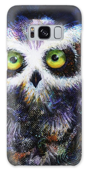 Midnight Hoot Galaxy Case
