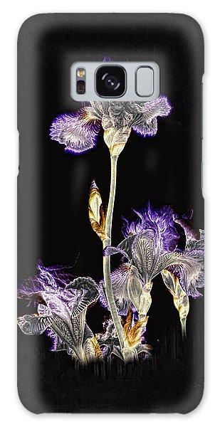Midnight Iris Galaxy Case