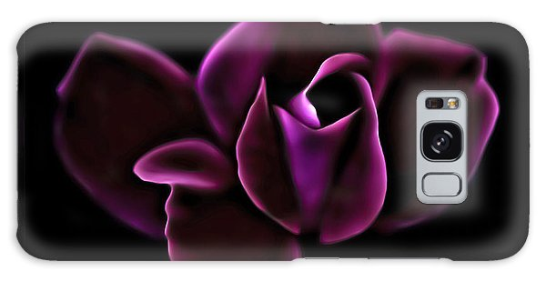Midnight Knockout Rose Galaxy Case