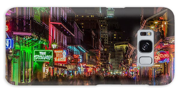 Midnight On Bourbon Street Galaxy Case