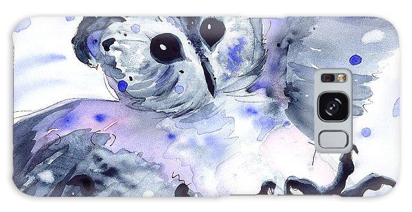 Midnight Owl Galaxy Case by Dawn Derman