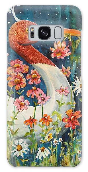 Midnight Stork Walk Galaxy S8 Case