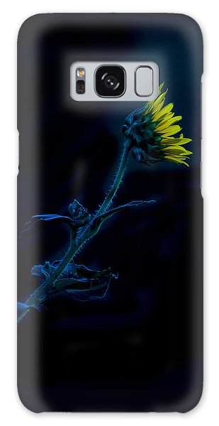 Midnight Sunflower Galaxy Case by Darryl Dalton