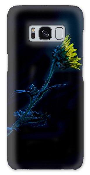 Midnight Sunflower Galaxy Case