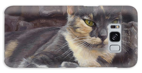 Calico Cat Galaxy Case - Midsummer Day by Lucie Bilodeau