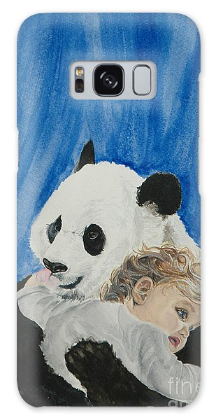 Mika And Panda Galaxy Case