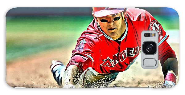 Mike Trout Painting Galaxy Case