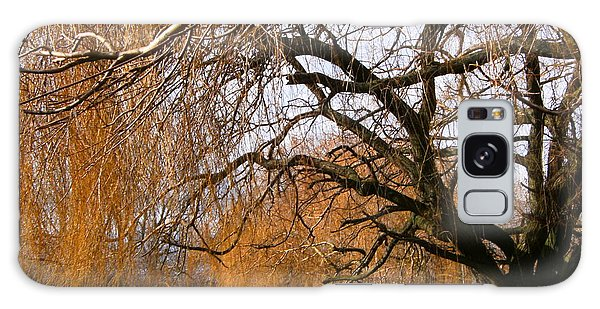 Mild Winter In Mayesbrook Park - Dagenham Galaxy Case by Mudiama Kammoh