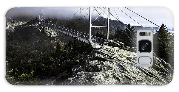 Mile High Bridge-grandfather Mountain Galaxy Case