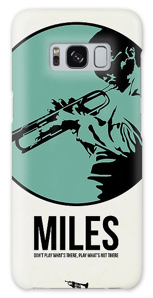 Miles Poster 1 Galaxy Case