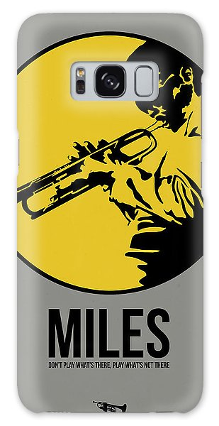 Miles Poster 3 Galaxy Case