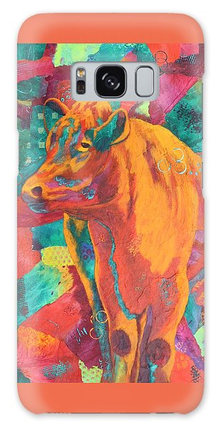 Milk Delivery Galaxy Case by Nancy Jolley