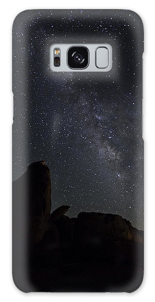 Galaxy Case featuring the photograph Milky Way Over The Seven Sisters by James Sage