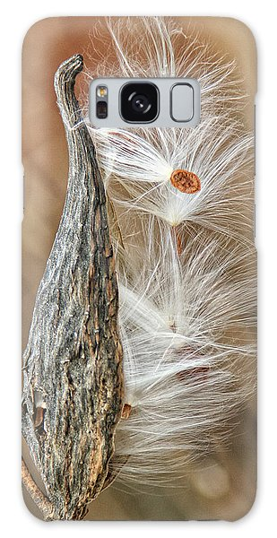Milkweed Pod And Seeds Galaxy Case