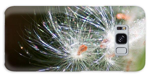 Milkweed Seed Galaxy Case