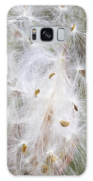 Milkweed Seeds And Fluff Galaxy Case