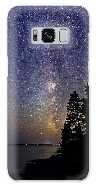 Milky Way At Acadia National Park Galaxy Case