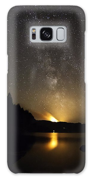 Milky Way At Crafnant 2 Galaxy Case by Beverly Cash