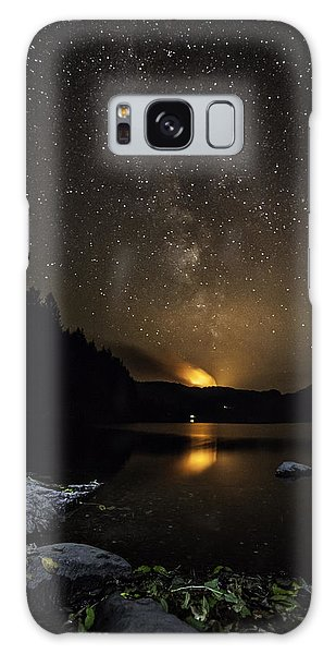 Milky Way At Crafnant Galaxy Case by Beverly Cash