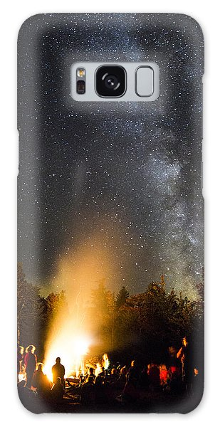 Milky Way At Flagstaff Hut Galaxy Case