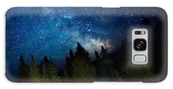 Milky Way On The Mountain Galaxy Case