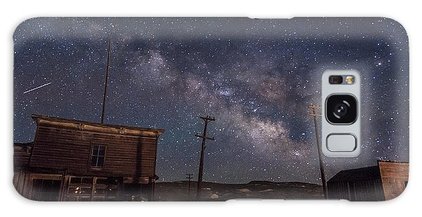 Bodie Galaxy Case - Milky Way Over Bodie Hotels by Cat Connor