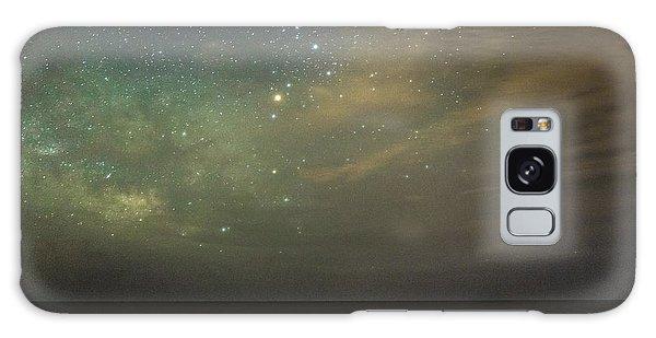 Milky Way Over Folly Beach Galaxy Case