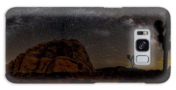 Featured Images Galaxy Case - Milky Way Over Joshua Tree by Peter Tellone