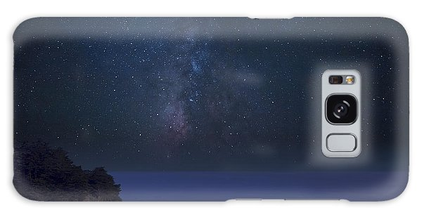 Milky Way Over Mcway Falls Galaxy Case