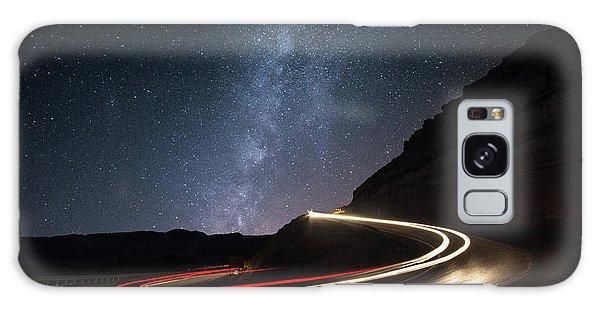 Long Exposure Galaxy Case - Milky Way Over Mitzpe Ramon by Erez Vansover