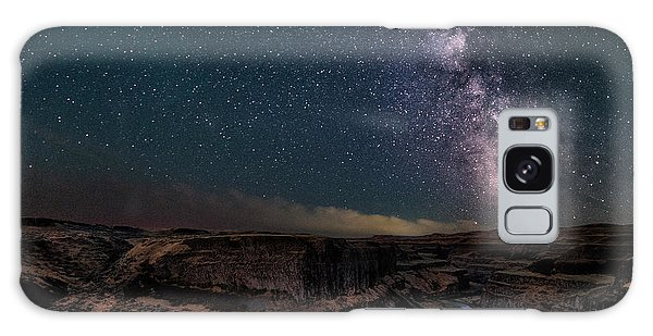 Milky Way Galaxy Case - Milky Way Over Palouse Falls by Lydia Jacobs